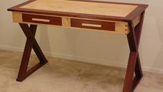 Jefferson Stand Up Desk Plans Woodworking Lathe Tools, Woodworking Shop Layout, Woodworking Basics, Woodworking Store, Custom Woodworking, Woodworking Crafts, Wood Shop Projects, Furniture Projects, Solid Wood Bed Frame