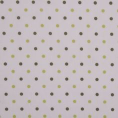 White/Lime/Olive Cotton Batiste Fabric by the Yard | Mood Fabrics