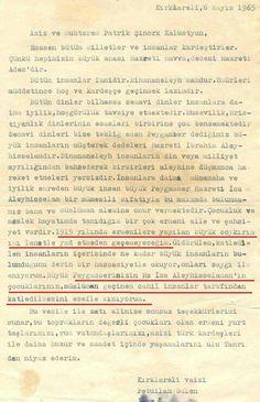 O konuda haklısınız Fejhullach Guelen'in Ermeni Patrik'e yazdığı mektup,hainliğinin ispatıdır ... Hala Ermeni FTÖ'nün ardından gidenler İmanlarını gözden geçirmeyecekler mi? Hainliğin bu kadarı imana zarar!