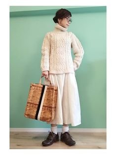 Cool Style, My Style, Korean Fashion, Dressing, Normcore, Womens Fashion, Ladies Fashion, Turtle Neck, Knitting