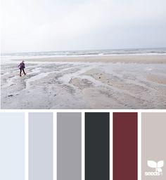 { Winter Tones } image via: @mijn.grid | featured in the Seasonal Atlas | Design Seeds X Archroma