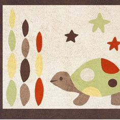 The Turtle Accent Floor Rug by Sweet Jojo Designs, along with the Turtle bedding accessories, are available at TinyTotties.com with the lowest prices available anywhere. #tinytotties #roomdecor
