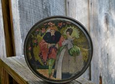 Queen Anne Candy Tin VintageTin by Canco Co. Hammond by WVpickin