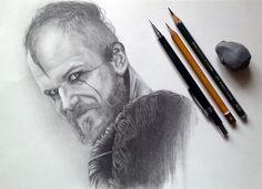 Флоки викинги, Флоки, рисунок, рисунок карандашом