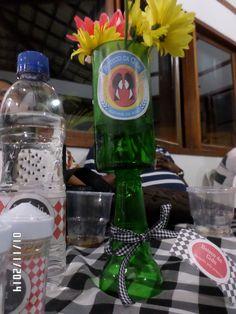 Taça feita de garrafa de cerveja long neck
