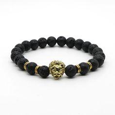 Buddha Leo Lion Head Bracelet //Price: $7.99 & FREE Shipping //     #love #crystals