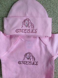 Baby Grizzly Apparel