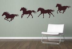 Wandtattoo Pferde Set - Wandtattoos mit Pferd | wall-art.de
