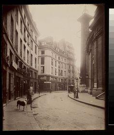 Rue de Viarmes cote de la rue Vannes (1e) - Eugène Atget