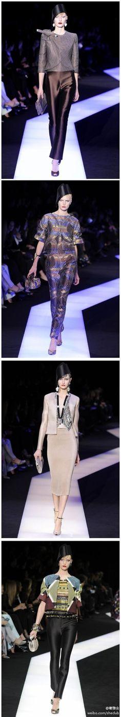 Armani Privé 2013 Spring Couture Collection