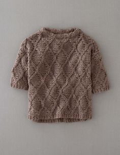 Hand Knit Cable Jumper