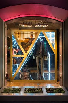 Ted Baker, AW14 Window Display   Floral Street, London, 2014 by Millington Associates