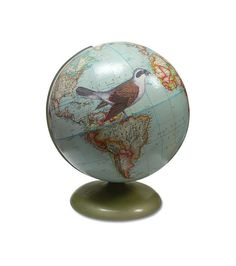 Fly Away Globe by wendygold on Etsy, $225.00. These globes are simply magical and wonderful and like nothing I have ever seen. Just plain awesome.