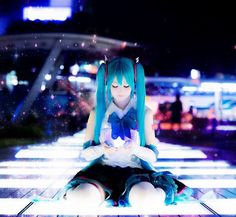 Twitterミク Vocaloid Cosplay, Anime Cosplay, Kaito, Hatsune Miku, Tokyo Streets, Asian Fashion, Fairy Tail, Otaku, Harajuku