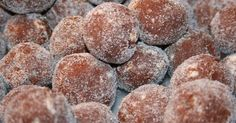 Famous Chocolate Bourbon Balls Recipe