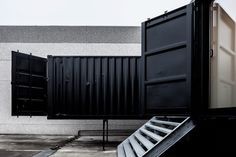 Fantastic Container Architecture by FIVE AM. Shot for Cafeine.be