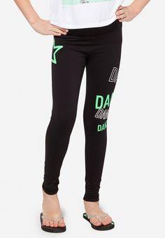 Dance Graphic Leggings