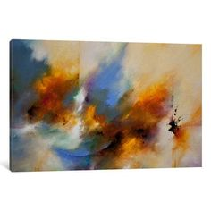 "Varick Gallery Serenade by CH Studios Print Painting on Wrapped Canvas Size: 26"" H x 40"" W x 1.5"" D"