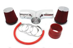 0208 Dodge Ram 37L  47L Dual  0407 Dakota  Durango 37L  47L Dual Short Ram Intake Red Included Air Filter SRDG7R >>> Check out the image by visiting the link.