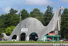 Domi we need a road trip....Sinclair Gas Station Dinosaur | Spring Hill, Florida : Gas Station Dinosaur