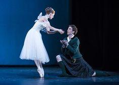 Royal Danish Ballet - Gudrun Bojesen and Ulrik Birkkjaer in La Sylphide.