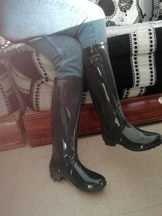 mamies bottes de pluie