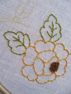 Hand Embroidery Videos, Tambour Embroidery, Embroidery Works, Hand Embroidery Stitches, Embroidery Techniques, Cross Stitch Embroidery, Diy Embroidery Designs, Floral Embroidery Patterns, Broderie Bargello