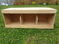 "Handmade Chicken Nest Box / Coop Nest box Chickens / Hens / Pigeons etc It's handcrafted in UK. Triple size is approx 31"" x 12"" x 13"" (78cm x 31cm x 33cm), the front top panel is approx 2"" or 5cm and the bottom approx 3"" or 7.5cm, internal size of each compartment is approx 10"" long x 12"" deep x 10.5"" high Each nest box arrives ready made and is built using 9 mm Plywood. #backyardchicken chickencoops #gentlemanpirateclub #etsy #woodencoops"