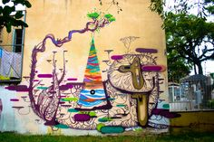 Street art - Porto Alegre, Brazil