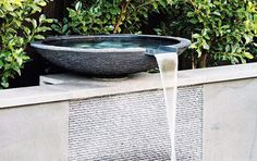 Wonderful water feature in backyard feng shui for your landscaping Outdoor Water Features, Pool Water Features, Water Features In The Garden, Landscape Design, Garden Design, Garden Waterfall, Waterfall Landscaping, Backyard Water Feature, Water Walls