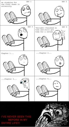 Everytime Before Exams - Posted in Funny, Troll comics and LOL Images - Entertain Club