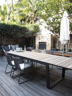 Great Contemporary Outdoor Patio Extension Tables