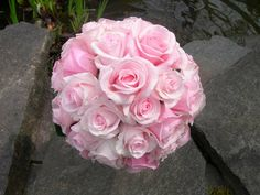 Light Pink Rose Bouquet for the BRIDE :)