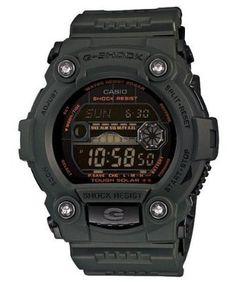 Casio Mens GR7900KG-3CR G-Shock Military Green Multi-Function Digital Watch