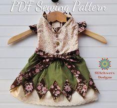 Small Dog Dress Sewing Pattern