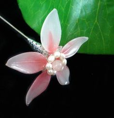 Vintage Chinese Handmade Flower Hair Accessories