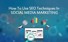 How To Use SEO techniques In Social  Media Marketing