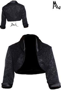 Retro Shrug Jacket by Amber Middaugh 2015   Standard Size $35.95 Plus Siz $43.95
