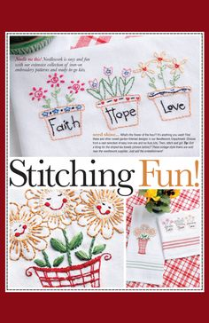 Needle me this! Needlework is easy and fun with our extensive collection of iron-on embroidery patterns and ready-to-go kits.