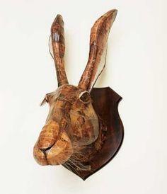 a-faerietale-of-inspiration: paper mache sculpture . . .