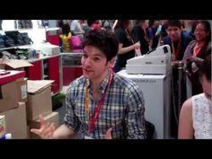 Bossa Studios meet Colin Morgan and Katie McGrath at Comic Con 2012
