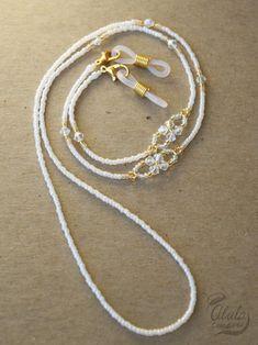 Diy Necklace, Necklace Holder, Jewelry Holder, Bracelet Crafts, Jewelry Crafts, Beaded Jewelry Designs, Eyeglass Holder, Bohemian Bracelets, Bracelet Making