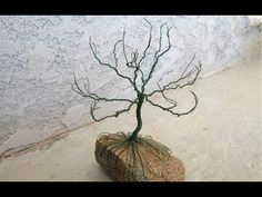 ▶ how to make a wire holiday tree - YouTube
