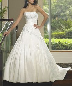 strapless corset wedding dresses...want my wedding dress to be like this