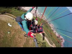 Paragliding for wheelchair users in Brittany France. https://youtube.com/watch?v=TRq9DrUlC2Y