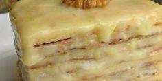 Слоеное пирожное со сгущенкой Нежные и мягкие пирожные из слоеного теста и крема со сгущенкой, просто тают во рту