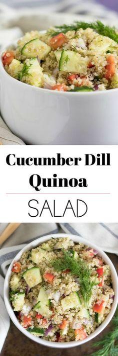 Cucumber Dill Quinoa