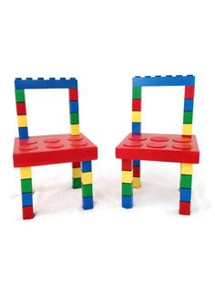 Two Kids Chairs Kids Bedroom Furniture by WooderfulCreations