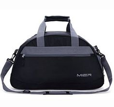 Buy Our MIER Gym Bag Sports Holdall Weekend Travel Duffel Bag with Shoes Compartment for Women and Men, 2 Colors (Black) Guaranteed Service Duffel Bag, Tote Bag, Gym Accessories, Bag Storage, Storage Ideas, Clothes Storage, Storage Baskets, Food Storage, Thing 1
