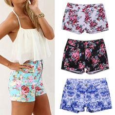 shorts cintura alta florido - Pesquisa Google